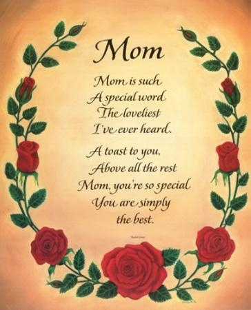 Poems Mothers Day Photos Pictures Bloguez Com